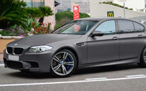A customers BMW M5