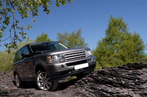 We service range rover cars